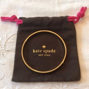 Kate Spade Gold Bangle Bracelet